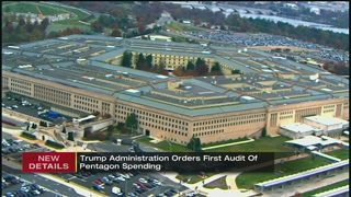 Trump administration orders first audit of Pentagon spending