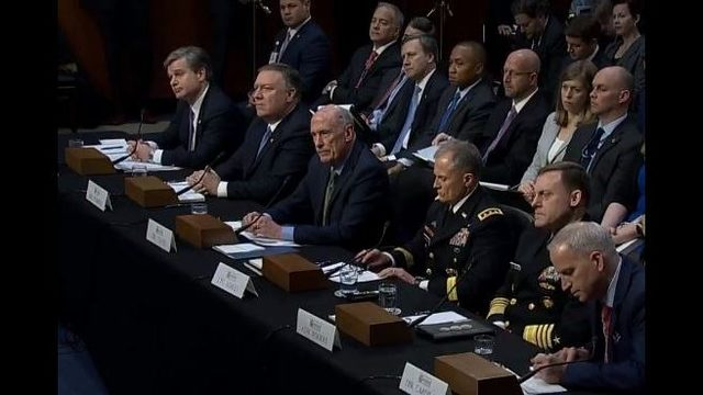 Image result for photos of 2/13/18 senate hearing