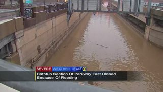 FLOOD WARNING: Flooding persists, leaving many with cleanup