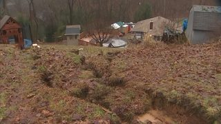 Landslide forces Beaver County family out of home