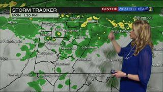 Wet Monday, Latest storm tracker (2/19/18)
