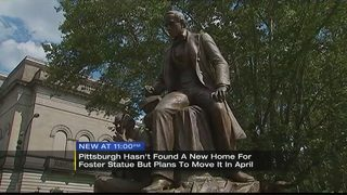 Controversial statue will be moved in April