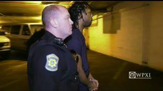 RAW VIDEO: Rahmael Holt arrives for arraignment