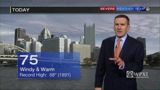 Record-breaking heat Tuesday (2/20/18)