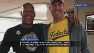 Ryan Shazier speaks publicly for first time since game injury