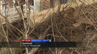 Garfield landslide forces families from their homes