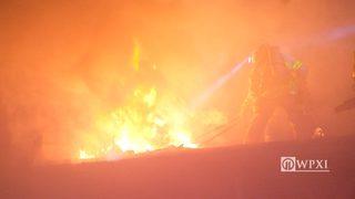RAW VIDEO: Fort Pitt Tunnel garage fire