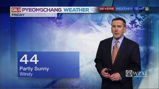 PyeongChang Forecast 2/22/18