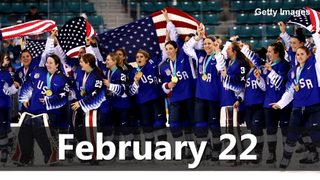 VIDEO: Olympic Gold on February 22