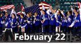 VIDEO: Olympic Hockey Gold on February 22