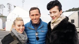Tara Lipinski, Johnny Weir to host Olympics closing ceremony for NBC