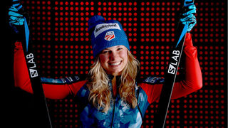 Gold medalist Jessie Diggins voted US flag bearer for Olympics closing ceremony