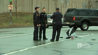 RAW VIDEO: Pedestrian hurt by hit and run in Chateau