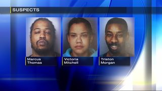 Three arrested in New Castle drug bust following routine traffic stop