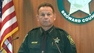 VIDEO: Armed deputy waited outside during school shooting