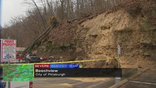 Beechview, West End landslides still causing issues