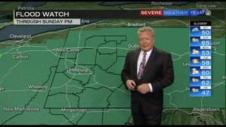 Several more rounds of rain could cause flooding through weekend
