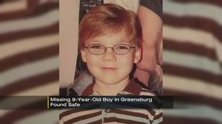 Missing 9-year-old boy found