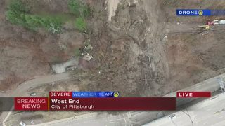 West End landslide tears down house above Route 51