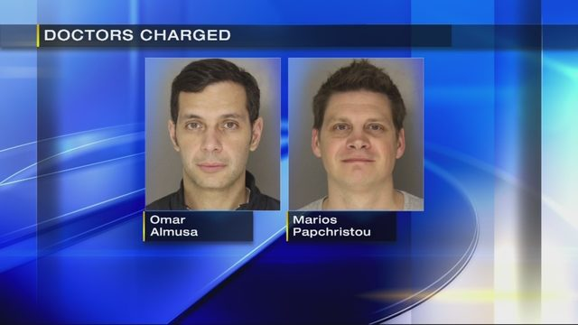 Opioids in Pennsylvania: Doctors arrested, accused of illegally