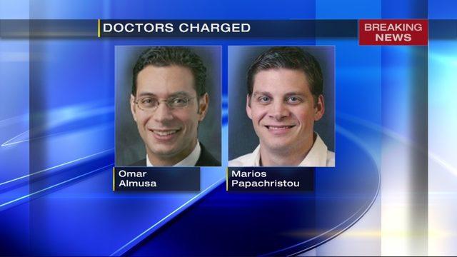 UPMC DOCTORS ACCUSED: 2 UPMC doctors accused of illegally