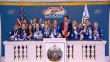 RAW VIDEO: U.S. Women's Olympic hockey team opens NYSE