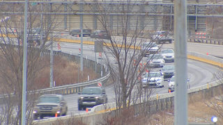 Parkway North construction, new traffic patterns now underway
