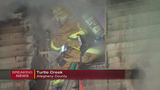 Crews battle 2-alarm house fire in Turtle Creek