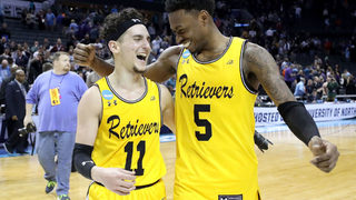 No. 16 UMBC stuns No. 1 Virginia 74-54 to make NCAA history
