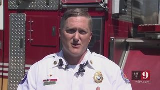 Florida firefighter falls off bridge into river while rescuing woman from fiery crash