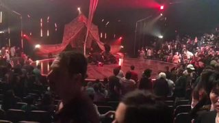 RAW VIDEO: Cirque du Soleil performer dies in fall