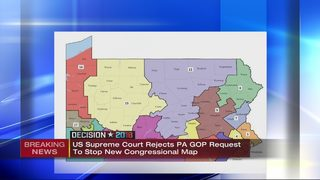 Supreme Court keeps revised Pa. congressional map in place