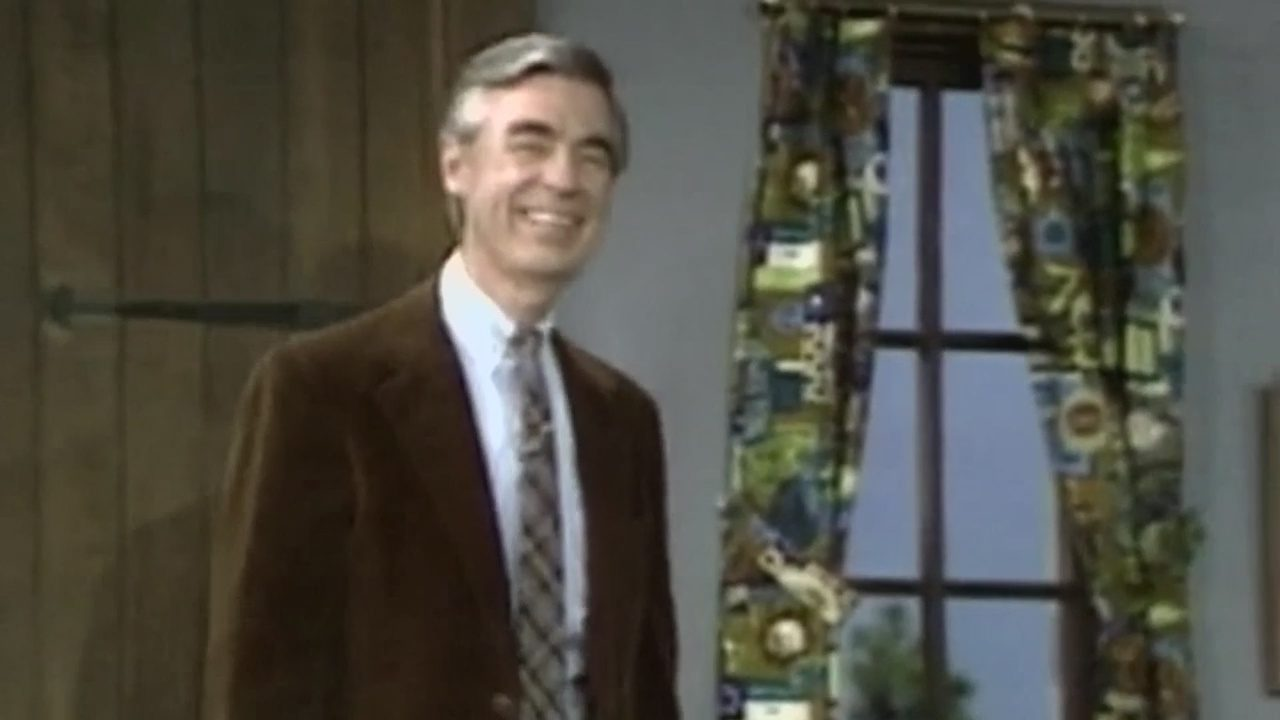 MR ROGERS DAY: Mr  Rogers' original neighborhood is