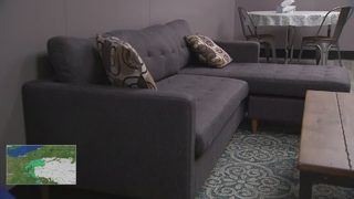 Special room to provide comfort for people dealing with addiction