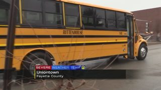 Students sent home early due to winter weather