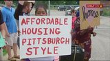 Protesters want city to reject proposed development plan