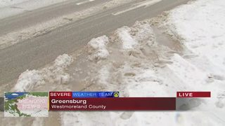 Roads in Westmoreland County mostly empty as drivers stay home