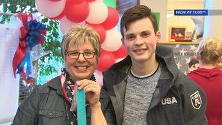 Local Olympian returns home to Washington County