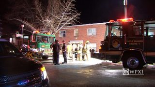 RAW VIDEO: One dead after apartment fire in Castle Shannon