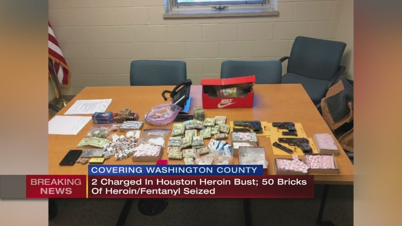 2 charged in heroin bust, 50 bricks seized | WPXI