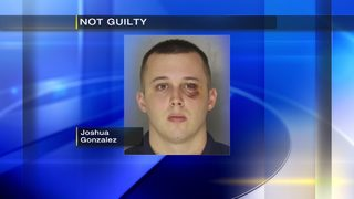 Former police officer accused of shooting jail guard found not guilty