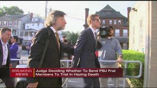 Judge to decide on PSU hazing charges