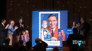 RAW VIDEO: Mr. Rogers honored with USPS stamp