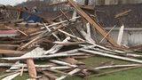 Washington County barn leveled during intense storms