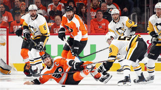 Flyers need scoreless Giroux to spark them against Penguins