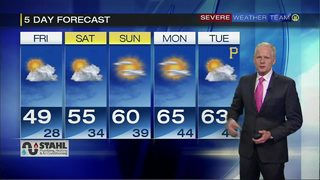5 day forecast for April 19