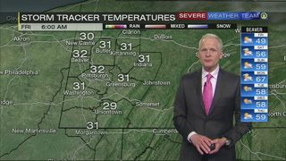 Chilly morning ahead Friday (4/19/18)