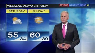 Weekend forecast for April 19