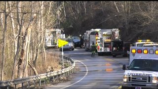 RAW VIDEO: Fatal crash on Route 993 in North Huntington