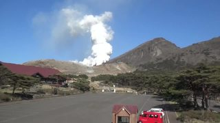 RAW VIDEO: Volcano erupts in Japan for first time in 250 years
